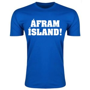 Iceland Afram Island T-Shirt (Blue) - Kids