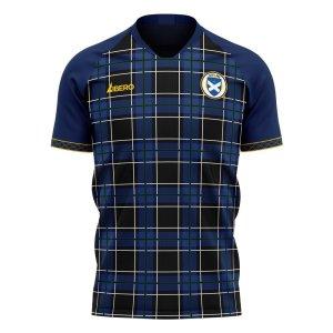 Scotland 2020-2021 Home Concept Football Kit (Libero) - Baby