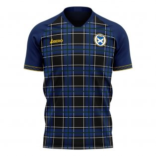Scotland 2020-2021 Home Concept Football Kit (Libero)