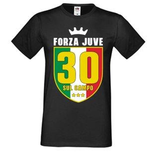 Juventus Scudetto 30 Sul Campo T-Shirt (Black) - Del Piero 10