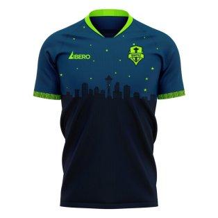 Seattle Sounders 2020-2021 Away Concept Football Kit (Libero)