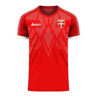 Serbia 2020-2021 Home Concept Football Kit (Libero)