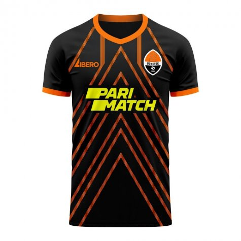 Shakhtar 2020-2021 Away Concept Football Kit (Libero) - Kids