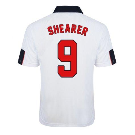 Score Draw England World Cup 1998 Home Shirt (Shearer 9)