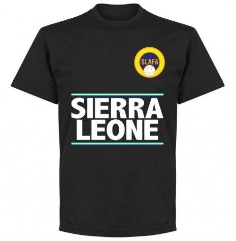 Sierra Leone Team T-Shirt - Black