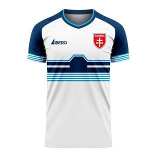 Slovakia 2020-2021 Home Concept Football Kit (Libero) - Womens
