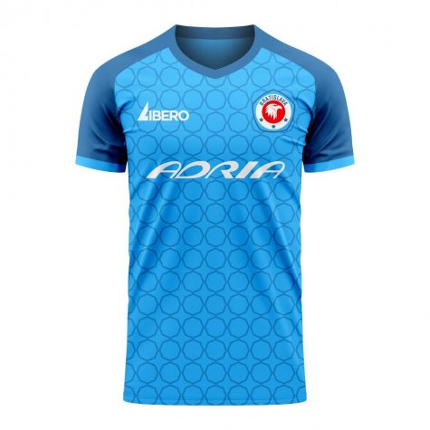 Slovan Bratislava 2020-2021 Home Concept Shirt (Libero) - Little Boys