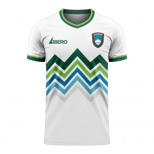 Slovenia 2020-2021 Home Concept Football Kit (Libero)