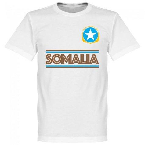 Somalia Team T-Shirt - White