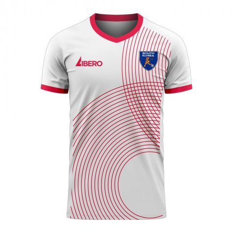 South Korea 2020-2021 Away Concept Football Kit (Libero)