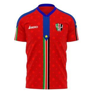 South Sudan 2021-2022 Away Concept Football Kit (Libero)