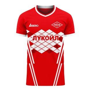 Spartak Moscow 2020-2021 Home Concept Football Kit (Libero)