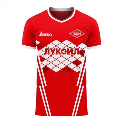 Spartak Moscow 2020-2021 Home Concept Football Kit (Libero) - Baby