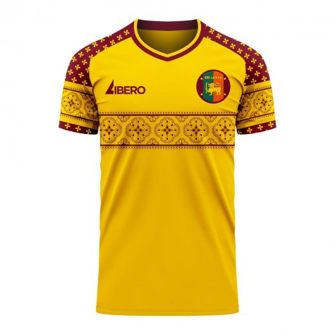 Sri Lanka 2020-2021 Home Concept Football Kit (Libero)