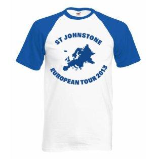 2013 St Johnstone European Tour T-Shirt
