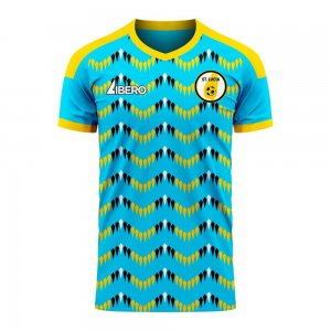 Saint Lucia 2020-2021 Home Concept Football Kit (Libero) - Baby