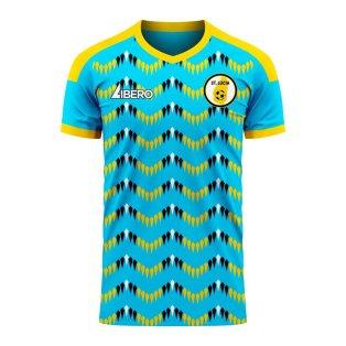 Saint Lucia 2020-2021 Home Concept Football Kit (Libero) - Womens