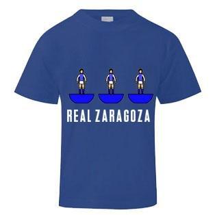 Real Zaragoza Subbuteo T-Shirt