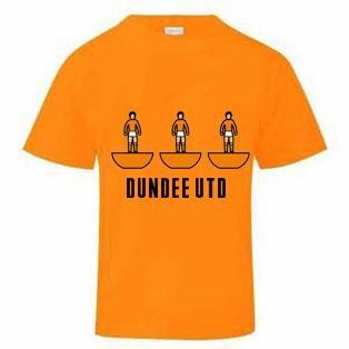 Dundee Utd Subbuteo T-Shirt