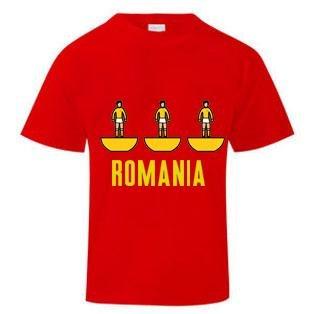 Romania Subbuteo T-Shirt