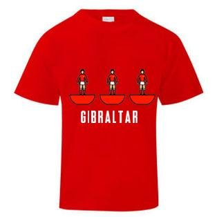 Gibraltar Subbuteo T-Shirt