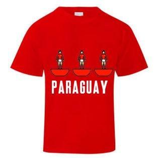 Paraguay Subbuteo T-Shirt