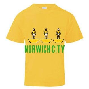 Norwich City Subbuteo T-Shirt