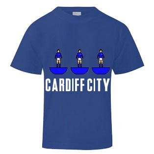 Cardiff City Subbuteo T-Shirt