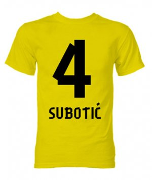 Neven Subotic Borussia Dortmund Hero T-Shirt (Yellow)