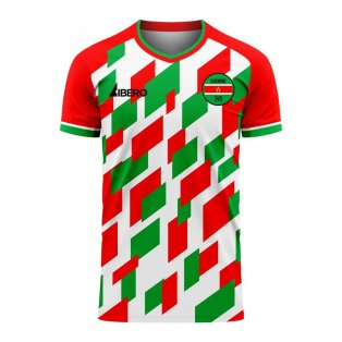 Suriname 2020-2021 Home Concept Football Kit (Libero)