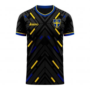 Sweden 2020-2021 Away Concept Football Kit (Libero)