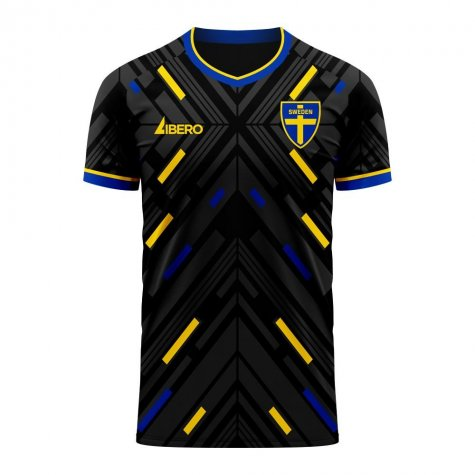 Sweden 2020-2021 Away Concept Football Kit (Libero) - Womens