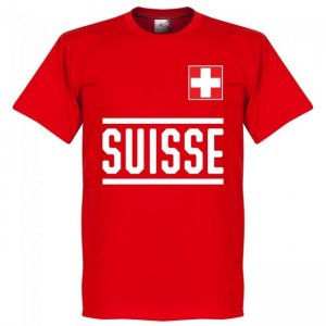 Switzerland Team T-Shirt - Red