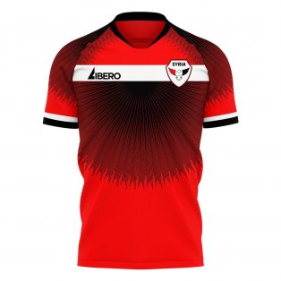 Syria 2020-2021 Home Concept Football Kit (Libero) - Womens