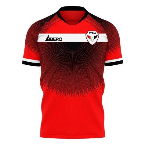 Syria 2020-2021 Home Concept Football Kit (Libero) - Baby
