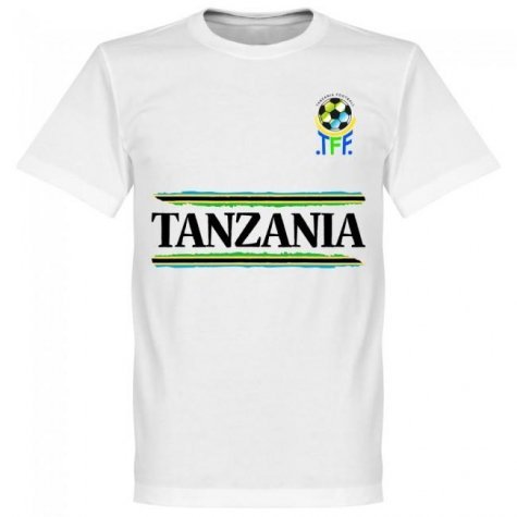 Tanzania Team T-Shirt - White