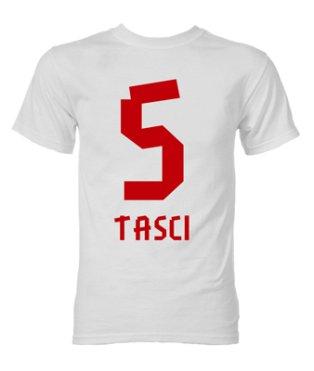 Serdar Tasci Stuttgart Hero T-Shirt (White)