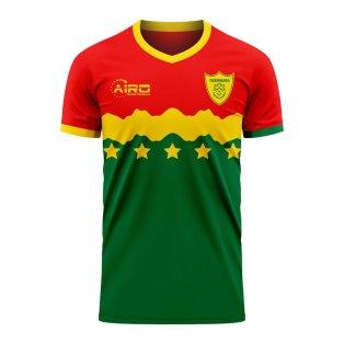 Tasmania 2020-2021 Home Concept Football Kit (Airo)