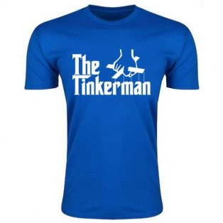 Leicester Claudio Ranieri The Tinkerman T-Shirt (Blue)