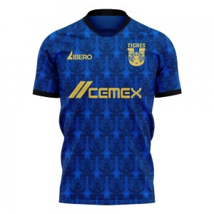 Tigres 2020-2021 Away Concept Football Kit (Libero)