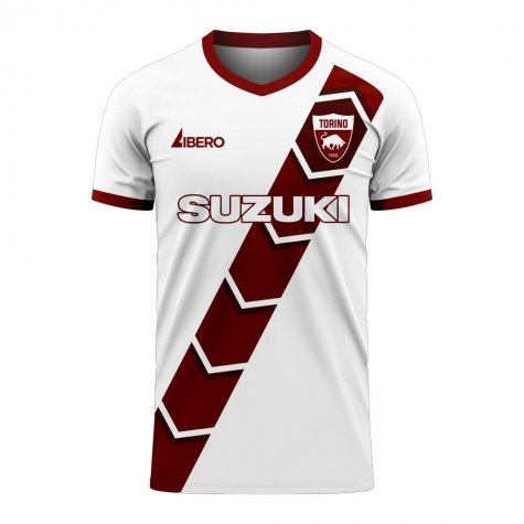 Torino 2020-2021 Away Concept Football Kit (Libero)