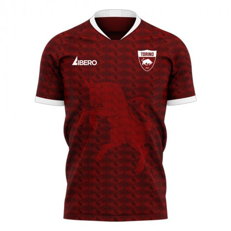 Torino 2020-2021 Home Concept Football Kit (Libero) - Little Boys