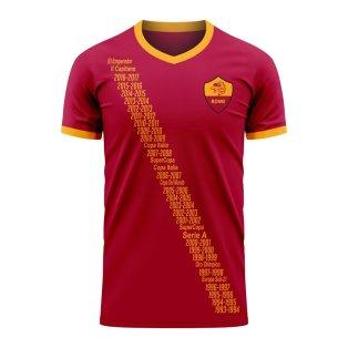 Roma Francesco Totti Tribute Home Shirt [TOTTITRIBUTE] - Uksoccershop
