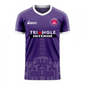 Toulouse 2020-2021 Home Concept Football Kit (Libero) - Womens