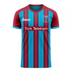Trabzonspor 2020-2021 Home Concept Football Kit (Libero) - Little Boys