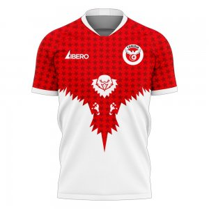 Tunisia 2020-2021 Away Concept Football Kit (Libero) - Womens