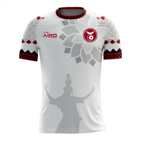 Tunisia 2020-2021 Home Concept Football Kit (Airo) - Womens