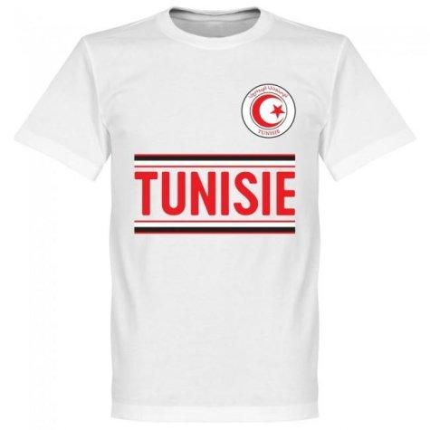 Tunisia Team T-Shirt - White