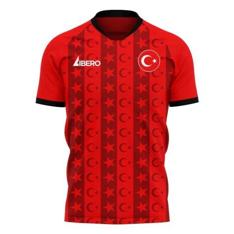 Turkey 2020-2021 Home Concept Football Kit (Libero)