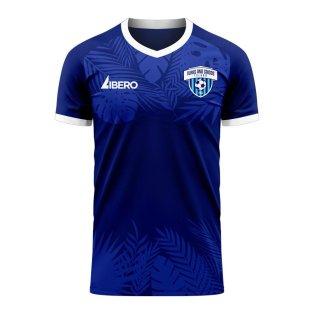 Turks & Caicos 2020-2021 Home Concept Football Kit (Libero) - Womens
